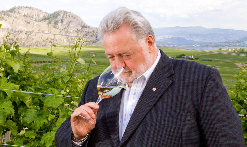 harry mcwatters black sage bench sniff voth photography - BC wine industry loses a lion with passing of Harry McWatters