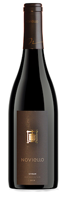 noviello red mountain syrah 2014 bottle - Washington Syrah continues to grow in popularity