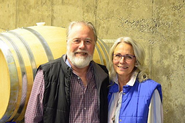Ray and Wendy Coulombe purchased a 5-acre vineyard near Oliver, British Columbia, in 2009, and their vinAmite Cellars wines are winning gold medals in U.S. competitions.