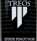treos estate pinot noir founders choice 2013 label 120x134 - Treos 2013 Estate Pinot Noir Founder's Choice, Willamette Valley, $35