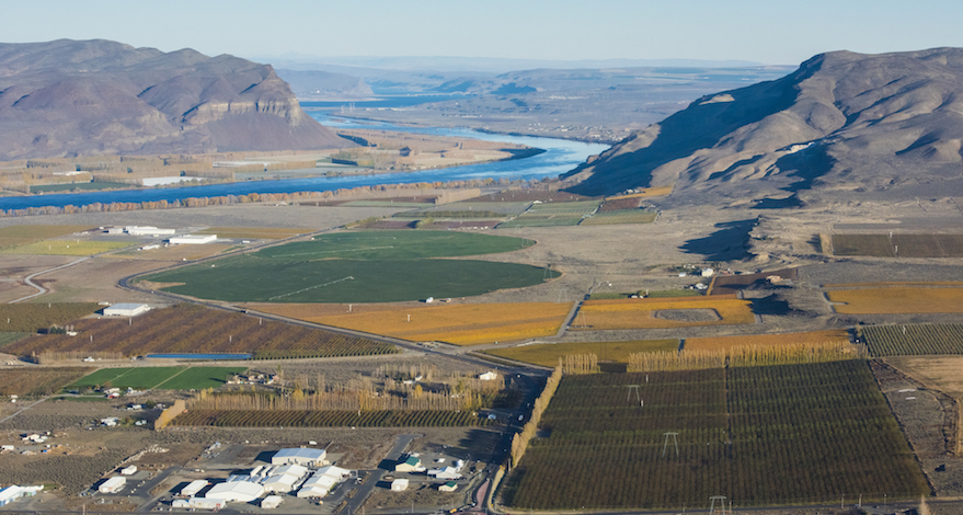 The federal government established the Wahluke Slope American Viticultural Area in 2006. It is bounded by the Columbia River to the west and south, the Saddle Mountains to the north and the Hanford Reach National Monument to the east. The AVA is home to more than 20 vineyards and includes 8,491 acres of vineyards — about 15 percent of the total wine grape acreage in Washington state.