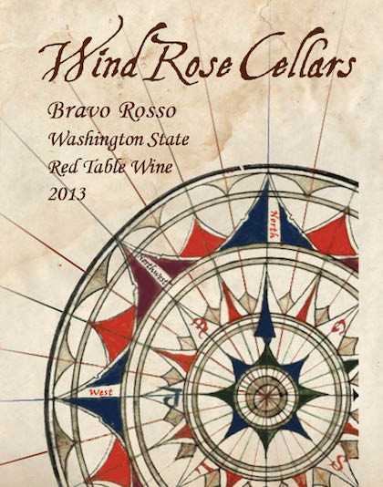 sc 1 st  Great Northwest Wine & Wind Rose Cellars 2013 Bravo Rosso Red Table Wine Washington $22