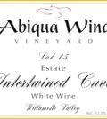 abiqua wind vineyard lot 15 estate intertwined cuvee white wine nv label 120x134 - Abiqua Wind Vineyard NV Lot 15 Estate Intertwined Cuvée White Wine, Willamette Valley, $12