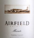 airfield estates moscato 2015 label  120x134 - Airfield Estates 2015 Moscato, Yakima Valley, $15