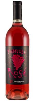 patterson cellars forbidden rosé 2016 bottle - Patterson Cellars 2016 Forbidden Rosé, Columbia Valley, $13