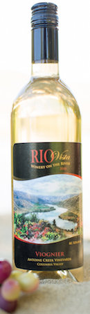 Rio Vista Wines 2016 Antoine Creek Vineyards Viognier bottle
