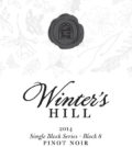 winters hill winery single block series block 8 estate pinot noir 2014 label 120x134 - Winter's Hill Winery 2014 Block 8 Estate Single Block Series Pinot Noir, Dundee Hills, $49