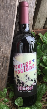 indian creek winery touriga nacional 2014 bottle - Idaho wine industry coming into its own
