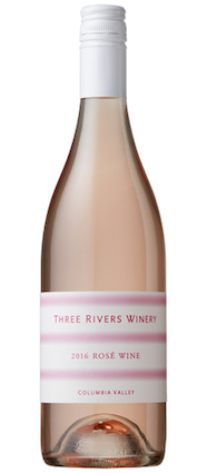 three rivers winery rose 2016 bottle - Three Rivers Winery 2016 Rosé, Columbia Valley, $14