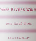 three rivers winery rose 2016 label 120x134 - Three Rivers Winery 2016 Rosé, Columbia Valley, $14