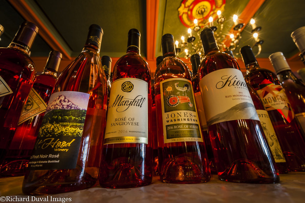 cascadia wine competition rose entries 1024x681 - Katherine Cole focuses new book on rosé - a Northwest favorite