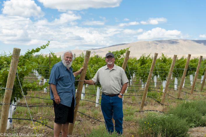 dick shaw marshall edwards red mountain 2017 - Marshall Edwards grows some of Washington's top wines