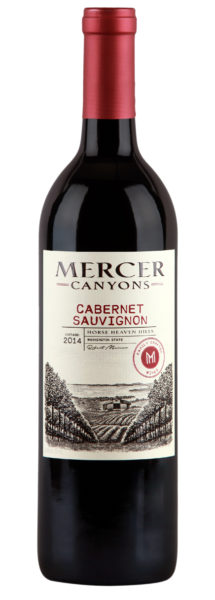 mercer canyons cabernet sauvignon 2014 bottle e1496126491315 - Mercer Canyons tops Indy International with $17 Cab