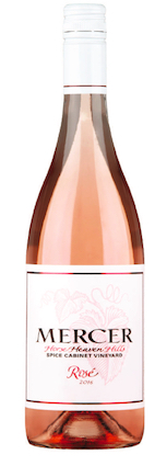 mercer estates spice cabinet rose 2016 bottle - Mercer Estates 2016 Spice Cabinet Vineyard Rosé, Horse Heaven Hills, $13
