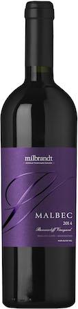 milbrandt vineyards ravenscliff vineyard single vineyard series malbec 2014 bottle - Milbrandt Vineyards 2014 Ravenscliff Vineyard Single Vineyard Series Malbec, Wahluke Slope, $42