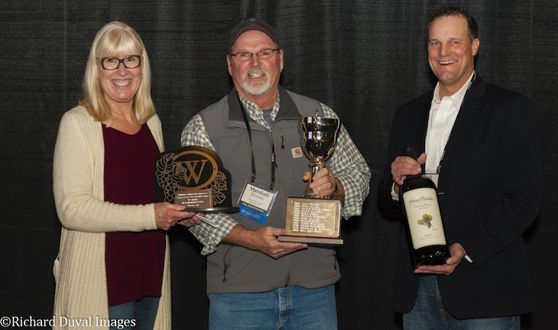 mimi nye marshall edwards todd newhouse 2017 wawgg - Marshall Edwards grows some of Washington's top wines