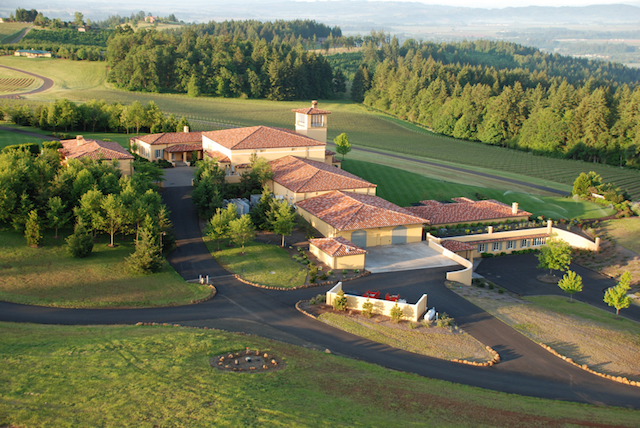 domaine serene winery grounds - Reininger, Domaine Serene, Mission Hill go Platinum at Decanter World Wine Awards