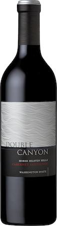 double canyon cabernet sauvignon hhh nv bottle - Double Canyon 2016 Cabernet Sauvignon, Horse Heaven Hills, $25