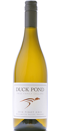 duck pond fries family cellars pinot gris 2016 bottle - Pinot Gris rules Oregon's white wine landscape