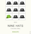 nine hats wines riesling 2015 label 120x134 - Nine Hats Wines 2015 Riesling, Columbia Valley, $14