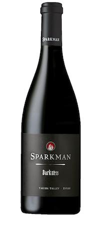 sparkman cellars darkness syrah bottle 2 - Syrah flourishes as Washington wine industry's secret weapon