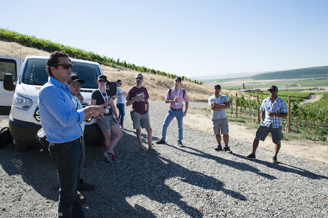brian rudin canvasback vineyard - Cabernet Summit earns praise for Red Mountain wines, hospitality