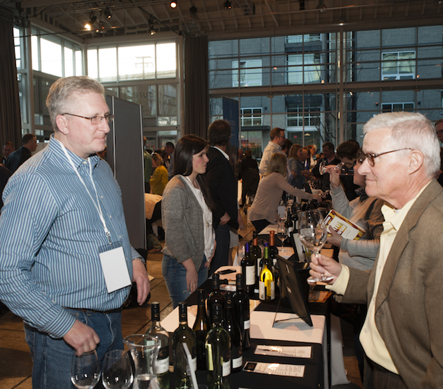 kendall mix walla walla pouring seattle 2015 richard duval - Kendall Mix takes over as winemaker at Wahluke Wine Co.