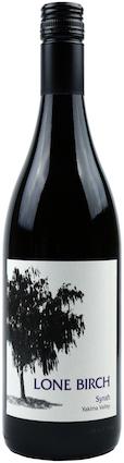 lone birch syrah nv bottle - Syrah flourishes as Washington wine industry's secret weapon