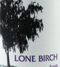 lone birch syrah nv label 120x134 - Lone Birch 2014 Syrah, Yakima Valley, $13