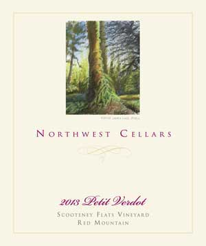 northwest cellars scooteney flats vineyard 2013 label - Washington wine lovers should seek out big Petit Verdot