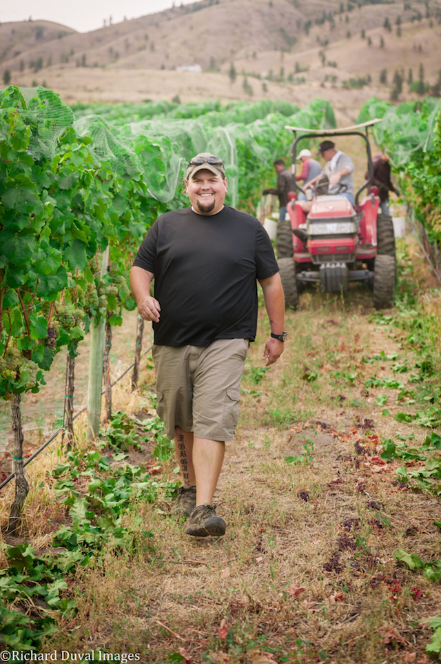 shane collins richard duval images - Shane Collins leaves Tsillan Cellars to join Rocky Pond Winery