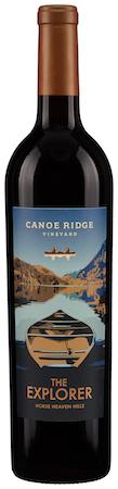 canoe ridge vineyard the explorer red 2014 bottle.2 - Canoe Ridge Vineyard 2014 The Explorer Red Blend, Horse Heaven Hills, $22