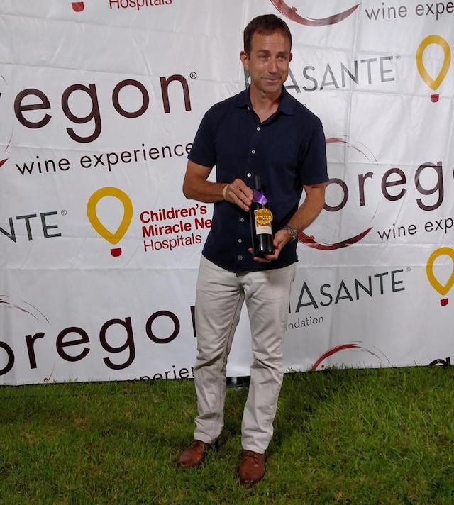 eric weisinger oregon wine experience 2017 - Second-generation Weisinger tops Oregon Wine Competition with Tempranillo