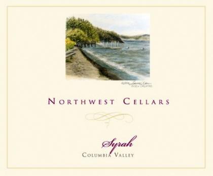 northwest cellars syrah nv label 2 - Syrah flourishes as Washington wine industry's secret weapon