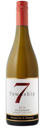 township 7 romar vineyard viognier 2016 bottle - Viognier gaining foothold in Pacific Northwest