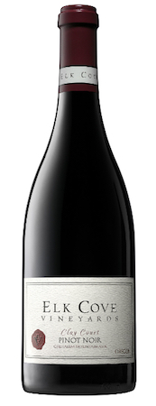 elk cove vineyards clay court pinot noir 2015 bottle - Elk Cove Vineyards 2015 Clay Court Pinot Noir, Chehalem Mountains, $60