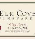 elk cove vineyards clay court pinot noir 2015 label 120x134 - Elk Cove Vineyards 2015 Clay Court Pinot Noir, Chehalem Mountains, $60