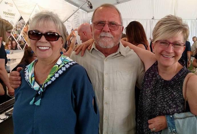 judy schmidt cal schmidt rene brons oregon wine experience 2017 - Oregon Wine Experience raises $1.02 million for children's health care