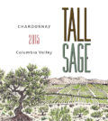 tall sage chardonnay 2015 label 120x134 - Tall Sage 2015 Chardonnay, Columbia Valley, $13