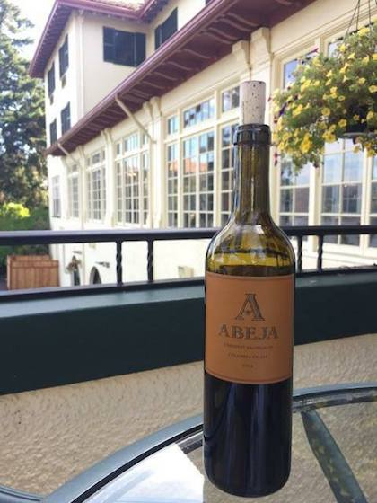abeja cabernet sauvignon columbia valley 2014 bott cgh - Abeja 2014 Cabernet Sauvignon, Columbia Valley, $52