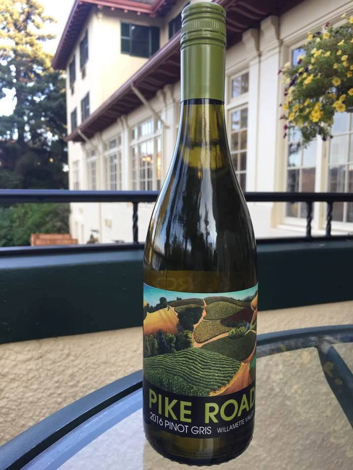 pike road wines 2016 pinot gris bottle cgh - Pinot Gris by Oregon's Pike Road tops fifth annual Great Northwest Invitational