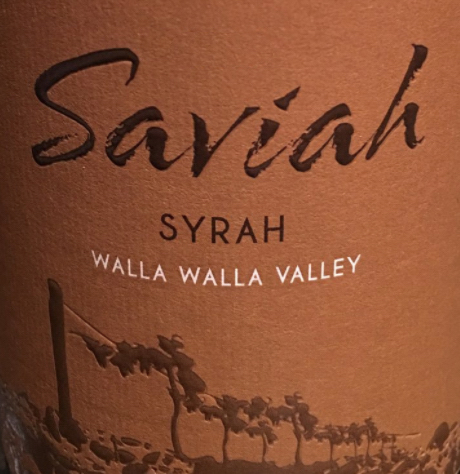 saviah cellars syrah walla walla valley nv label - Saviah Cellars 2014 Syrah, Walla Walla Valley, $32