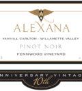 alexana winery fennwood vineyard pinot noir 2015 label 120x134 - Alexana Winery 2015 Fennwood Vineyard Pinot Noir, Yamhill Carlton, $65