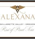 alexana winery rose pinot noir 2016 label 120x134 - Alexana Winery 2016 Rosé of Pinot Noir, Willamette Valley, $28
