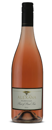 alexana winery rose pinot noir nv bottle - 8 Northwest rosés ideal for Thanksgiving
