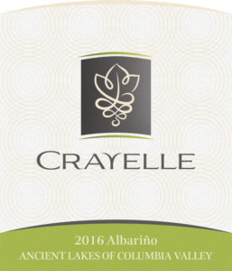 crayelle albarino 257x300 - Crayelle Cellars 2016 Albariño, Ancient Lakes of Columbia Valley, $23
