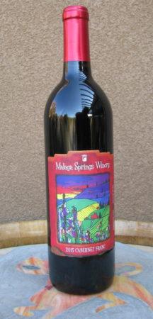 malaga springs cab franc e1523118764776 - Malaga Springs Winery 2015 Cabernet Franc, Columbia Valley, $26