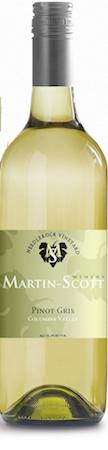 martin scott winery pinot gris nv bottle 1 - Martin-Scott Winery 2016 Needlerock Vineyard Pinot Gris, Columbia Valley, $14