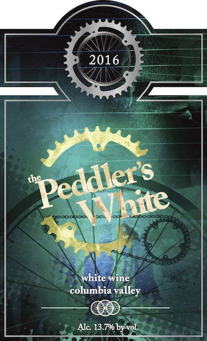 martin scott winery the peddlers white 2016 label - Martin-Scott Winery 2016 The Peddler's White, Columbia Valley, $14