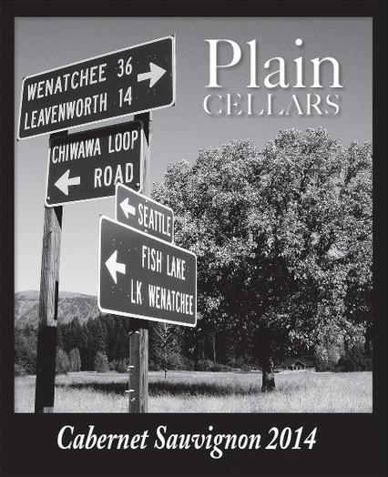 plain cellars cabernet sauvignon 2014 label 2 - Plain Cellars 2014 Cabernet Sauvignon, Red Mountain, $35